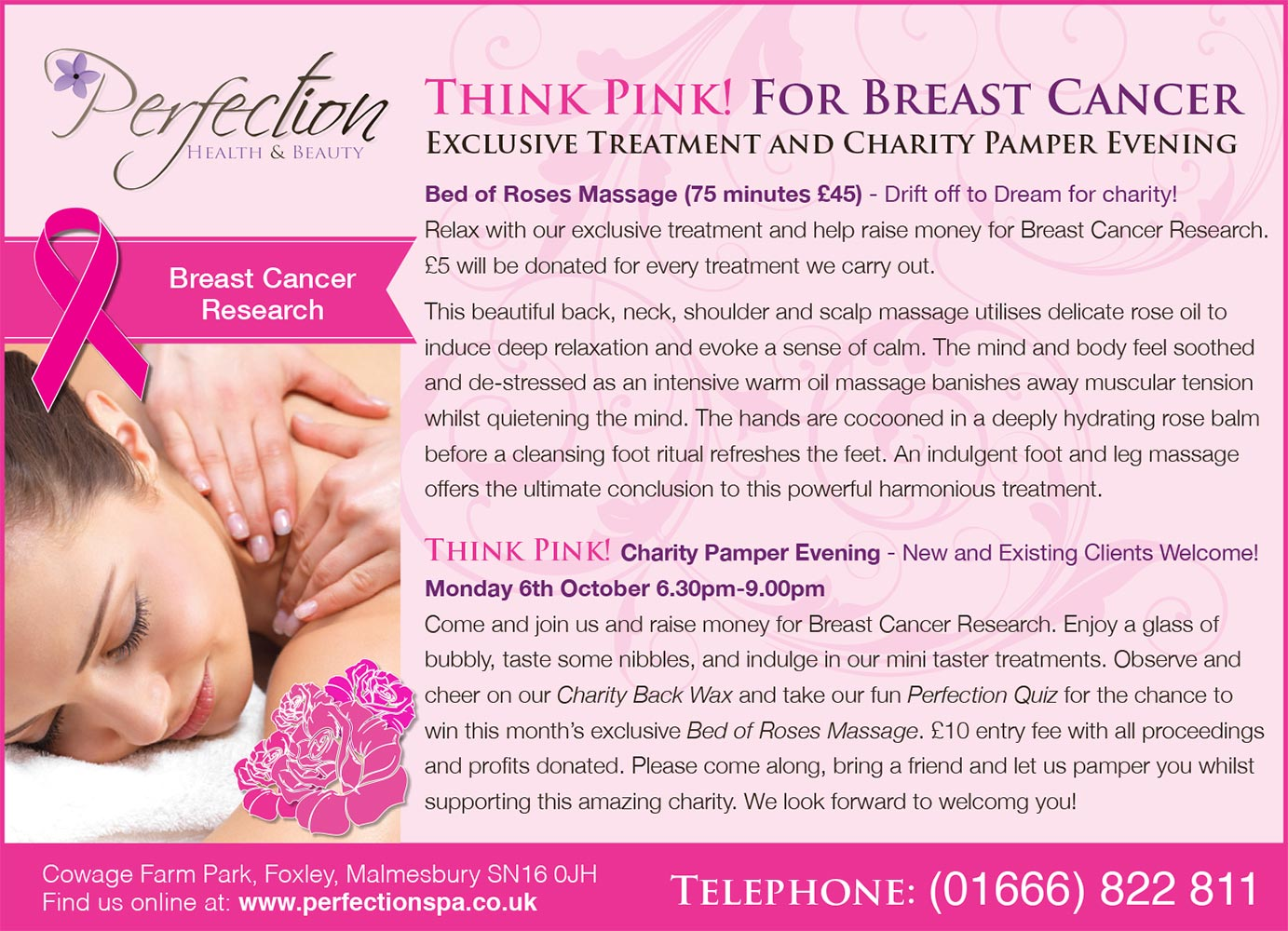 Charity Pamper Evening