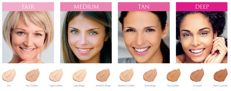 Amazing Cosmetics Shades