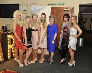 Spa Mum, Lyn Stead, keeps the team in check
