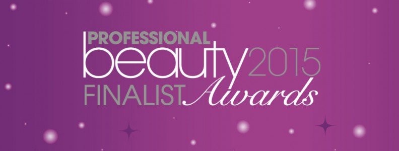 We've made it through to the Professional Beauty Awards 2015