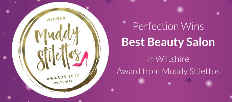 Perfection Win Muddy Stilettos Award!