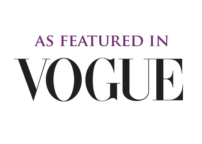 As Featured in Vogue