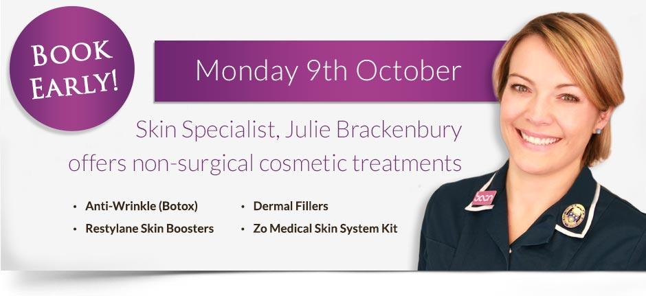 Julie Brackenbury - October